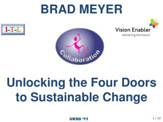 BRAD MEYER Unlocking the Four Doors to Sustainable Change