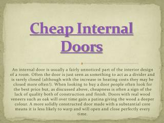 cheap internal doors uk