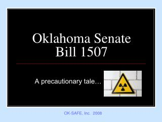 Oklahoma Senate Bill 1507