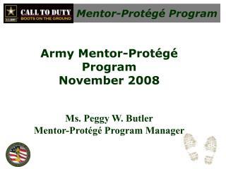 Mentor-Prot g  Program