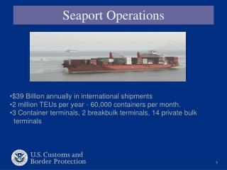 Seaport Operations
