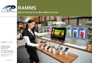 RAMMS Remote Advertising  MultiMedia System