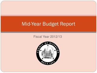 Mid-Year Budget Report