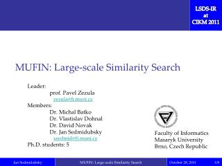 MUFIN: Large-scale Similarity Search