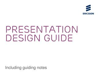 PRESENTATION DESIGN GUIDE