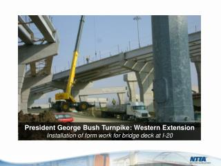 President George Bush Turnpike: Western  Extension