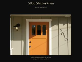 5030 Shipley Glen Highland Park, California