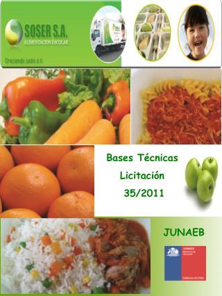 Bases Técnicas Licitación  35/2011