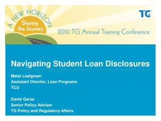 Navigating Student Loan Disclosures