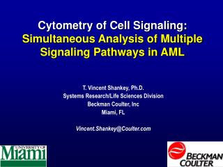 Cytometry of Cell Signaling: Simultaneous Analysis of Multiple Signaling Pathways in AML
