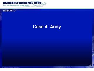 Case 4: Andy