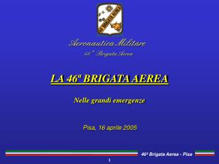 Aeronautica Militare 46  ª Brigata Aerea