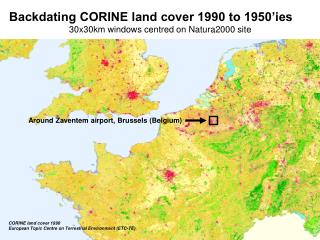 CORINE land cover 1990  European Topic Centre on Terrestrial Environment (ETC-TE)