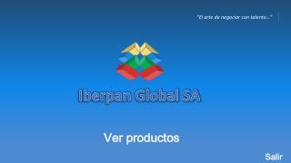 Iberpan Global SA