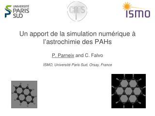 Un apport de la simulation numérique à l'astrochimie des PAHs