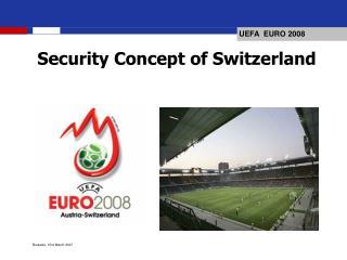 Security Concept of Switzerland