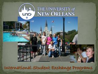 International Student Exchange Programs