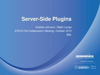 Server-Side  Plugins