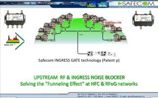 Upstream gateway that fully synchronizes with the Cable modem (patent p).