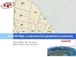 Mario Mađer, dipl. ing. geod. Baldo Stančić, dipl. ing. geod.