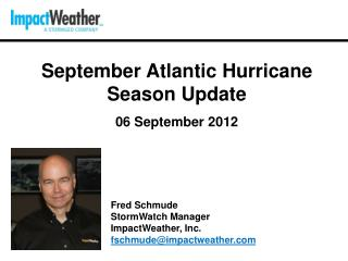 September  Atlantic Hurricane Season  Update 06 September 2012