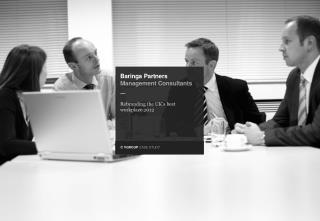 Baringa  Partners  Management  Consultants