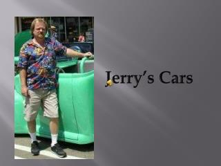 Jerry�s Cars