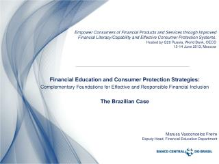 Financial Education and Consumer Protection Strategies: