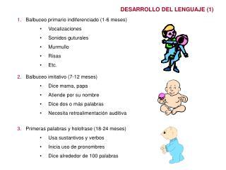 DESARROLLO DEL LENGUAJE (1)