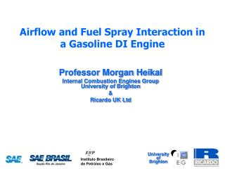 Airflow and Fuel Spray Interaction in a Gasoline DI Engine