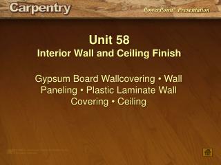 Unit 58