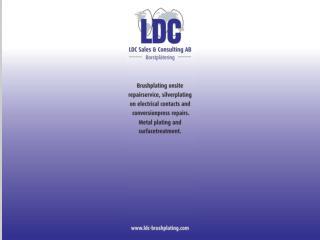LDC borstplätering
