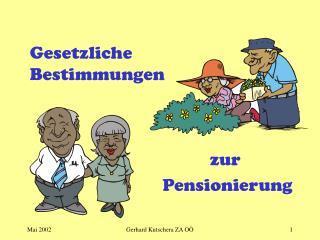 zur  Pensionierung