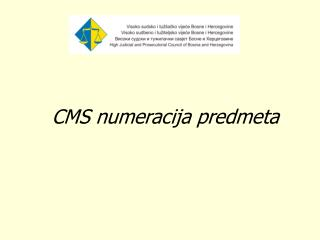 CMS numeracija predmeta