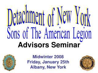 Advisors Seminar