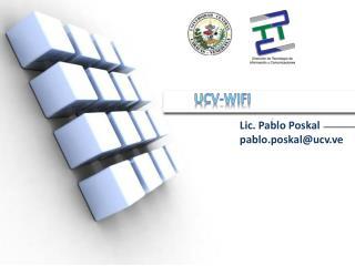 UCV- WiFi