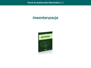 Temat do podręcznika Ekonomika cz. 1