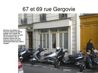 67 et 69 rue Gergovie