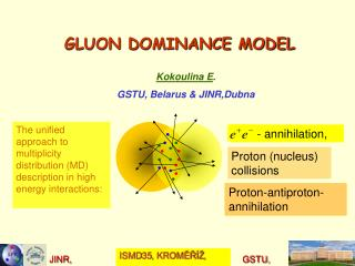 GLUON DOMINANCE MODEL