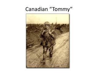 Canadian �Tommy�