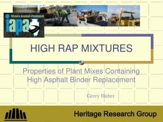 HIGH RAP MIXTURES