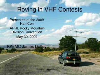 Roving in VHF Contests
