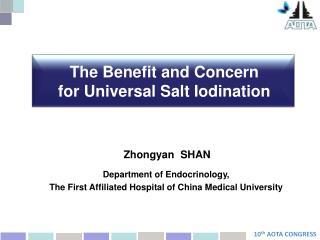 Zhongyan  SHAN