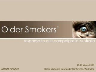 Older Smokers'