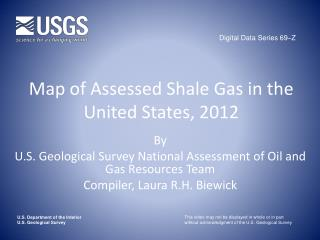 Map of Assessed Shale Gas in the United States, 2012