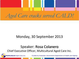 Monday ,  30 September 2013