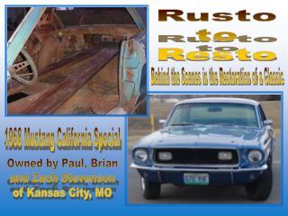 1968 Mustang California Special