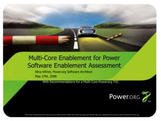 Multi-Core Enablement for Power