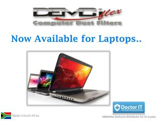 Now Available for Laptops..