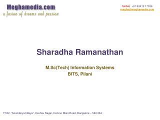 Sharadha Ramanathan